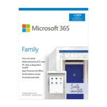 Microsoft 365 Family | fino a 6 persone | 1 abbonamento annuale