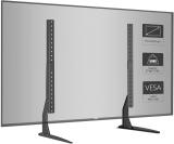 1home – Supporto universale per TV da tavolo con piedistallo