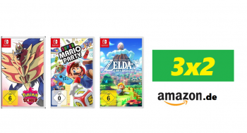 Amazon Germania: 3×2 su tantissimi giochi per Nintendo SWITCH