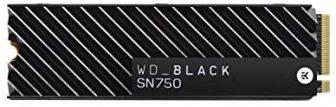 Western Digital WD Black SN750 SSD NVMe Interna per Gaming con Dissipatore di Calore – 1TB