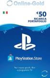PlayStation Network Card 50 EURO (IT) PSN
