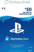 PlayStation Network Card PSN 50 EURO CREDITO – PSN IT