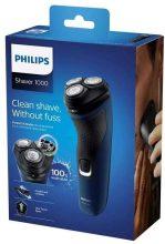 Philips S1131 Rasoio Serie 1000, sistema lame PowerCut