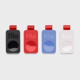 FiloTag 2021. Localizzatore Oggetti senza SIM. 1 Confezione con 4 pezzi