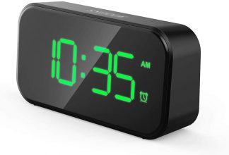 Irfora – Sveglia digitale con porta USB