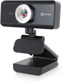 EIVOTOR USB Webcam 720P con Microfono HD