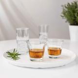 AmazonCommercial – Bicchiere da whisky vecchio stile, 269 ml, set da 8