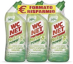 Wc Net – Natural Power Gel 700 ml x 3 confezioni