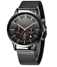 WISHDOIT Uhren Herren Mode Chronographen