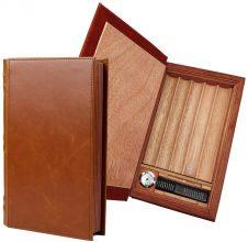 PortableTravel – Scatola per sigari in pelle