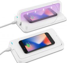 Sterilizzatore UV per Cellulare con caricatore wireless 10W