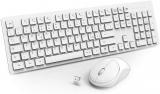 WisFox Combinazione di Tastiera Mouse Senza Fili