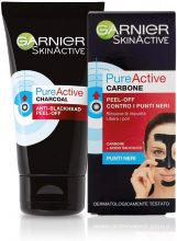 Garnier Maschera Peel-Off Pure Active Charcoal, 50 ml