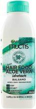 Garnier Balsamo Idratante Fructis Hair Food, Balsamo idratante all'aloe per capelli disidratati, , 350 ml