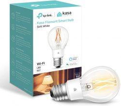 TP-Link, lampadina a filamento WiFi, E27, 7W (60W equiv.)
