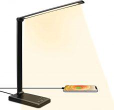 ACADGQ Lampada da Scrivania LED con Ricarica Wireless – LED-UK01