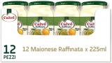 Calvé Maionese Raffinata in Vasetto, Maxiformato, 12 Pezzi da 225 ml