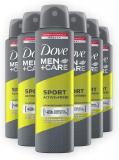 DMC Sport Active Spray 150 ml, Confezione da 6