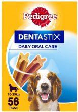 Pedigree Dentastix al Giorno Medium 10-25 kg Confezione Scorta, 56 Bastoncini – 8 x 180 gr