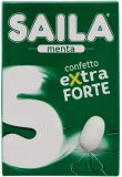 Saila – Confetti Alla Menta Extra Forte, Senza Zucchero – 16 Astucci Da 45 Gr