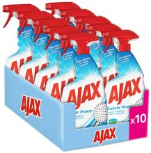 Ajax Shower Power Detersivo Anticalcare, 10 x 600ml