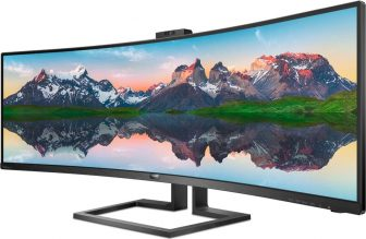 Philips 499P9H/00 Monitor Curvo 49″, Gaming Superwide