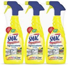 Smac Express – Sgrassatore Cucina al Limone, , 650 ml x 3 Pezzi