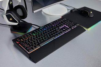 Corsair Strafe RGB MK.2 Silent Tastiera Meccanica Gaming, Cherry MX Silent