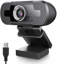 EIVOTOR USB Webcam 1080P
