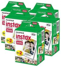 Fujifilm Instax Mini Film, pellicole per foto istantanee, 100 scatti