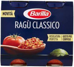 Barilla Sugo Ragù Classico – 2 barattoli da 180 gr