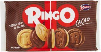 Pavesi – Ringo Cacao – 1 confezione da 6 pezzi da 55 g