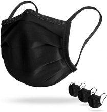 ERORRE PREZZO: Isko Vital (3x Supreme mascherine per il viso, cotone biologico, fino a 30 volte lavabile