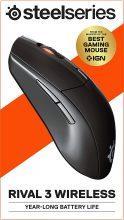 SteelSeries Rival 3 Wireless – Mouse da Gioco