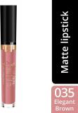 Max Factor Rossetto Matte Liquido Lipfinity Velvet – 35 Elegant Brown