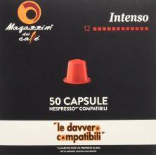 Magazzini del Caffè, 50 Capsule Compatibili Nespresso – Intensità 12