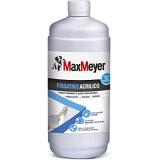 MaxMeyer Fissativo all'acqua per interni ed esterni Acrilico TRASPARENTE 1 L