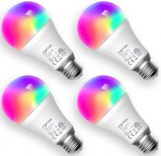 meross Lampadina Wifi Intelligente LED 9W 810LM – 4 pezzi
