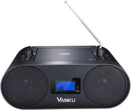 Vanku Radio portatili boombox con bluetooth