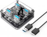 ORICO USB Hub-4-Port USB 3.0 Hub di espansione USB Mini