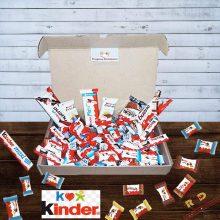 Kinder Box Snack Ferrero Confezione 65PZ