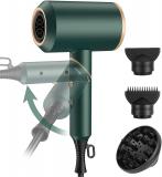 ElectriBrite – Asciugacapelli da viaggio pieghevole, piccolo, 2000 W