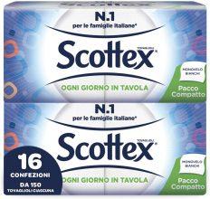 Scottex Tovaglioli Monovelo Pacco Compatto – 16 confezione da 260 g