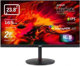 Acer Nitro XV242YPbmiiprx Monitor Gaming FreeSync, Display 23.8″ IPS FHD