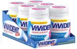 Vivident Xylit Chewing Gum Senza Zucchero – Gusto Menta, Confezione da 6 Mini Barattoli