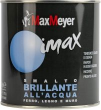 Maxmeyer 162571C400036 Smalto Brillante all'Acqua, Bianco Neve, 0.5L