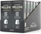 Pellini Caffè Espresso Luxury Coffee Supremo, 12 Astucci da 10 Capsule, Totale 120 Capsule