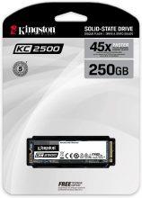 Kingston KC2500 NVMe PCIe SSD – SKC2500M8/250G M.2 2280