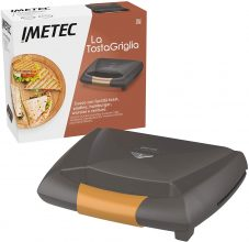 Imetec La TostaGriglia, tostiera, Piastre XL