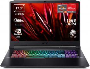 Acer Nitro 5 AN517-41-R3SG PC Gaming (AMD Ryzen 7 5800H, Ram 16 GB DDR4, 1024 GB PCIe NVMe SSD)
